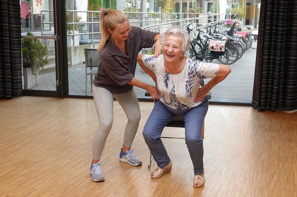 Senior Plaza gym 2