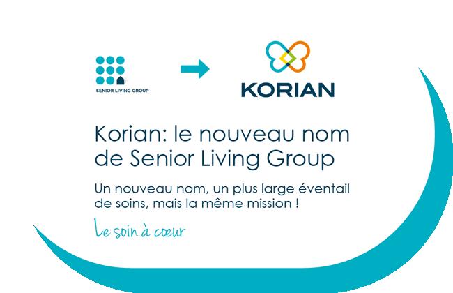 Korian - Le soin à cœur